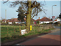 SP0875 : North corner of Gorsey Lane and Station Road, Wythall by Robin Stott