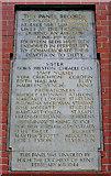 SJ8298 : Salford Royal Hospital War memorial by Edward Smith
