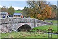 NY6216 : Bridge over the Lyvennet, Maulds Meaburn by Jim Barton