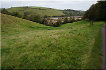 SX8158 : View from the Ashprington to Totnes Cycle Track by jeff collins