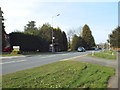 SP0775 : Alcester Road entering Wythall from the south by Robin Stott