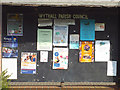 SP0775 : Wythall Parish Council noticeboard outside Wythall Institute, Alcester Road by Robin Stott