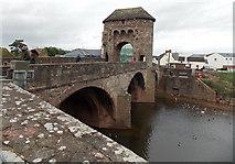 SO5012 : Monnow Bridge, Monmouth by Jaggery