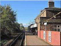 TM2850 : Melton (Suffolk) railway station by Nigel Thompson