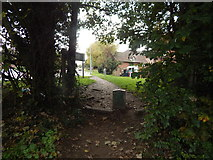TM1543 : Path out of Gippeswyk Park by Hamish Griffin