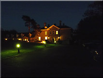 TM3876 : Highfield Residential Home at night by Adrian Cable
