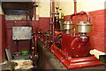 SK2625 : Claymills Victorian Pumping Station - A/B compressor engine by Chris Allen