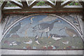 NY2262 : 'Roman' mosaic, Bowness on Solway by Stephen McKay