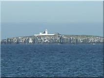 NU2135 : Lighthouse, Inner Farne by David Chatterton