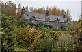 NN6259 : Laganiasgair Cottages on the B846 by Ian S