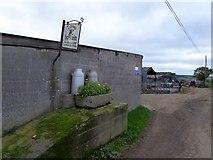 SS7008 : A milk churn stand at Clotworthy Farm by David Smith