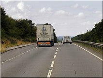 SK8836 : Layby on the A1 near Barrowby by David Dixon