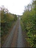 SS7208 : Part of the Tarka Line at Lapford by David Smith