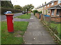 TG2007 : North Park Road/DeHague Road Postbox by Adrian Cable