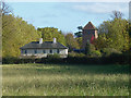 TQ1352 : Home Farmhouse, Polesden Lacey by Alan Hunt