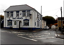 SS8591 : The Crown, Maesteg by Jaggery