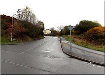 SS8591 : Crown Road, Maesteg by Jaggery