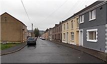 SS8591 : Harvey Street, Maesteg by Jaggery