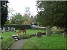 SU0460 : St Andrew, Etchilhampton: churchyard (7) by Basher Eyre
