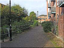 SK3436 : Derby - Brook Walk by Dave Bevis