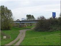 SK8174 : Dunham toll bridge by Bob Harvey