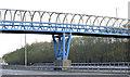 J3574 : Footbridge, Sydenham bypass, Belfast (November 2014) by Albert Bridge