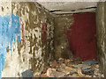 TF8023 : WW2 air raid shelter (interior) by Evelyn Simak