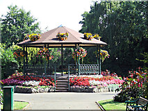 SK5319 : Queens Park bandstand by Thomas Nugent