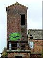 SJ8649 : Middleport Mill (detail), Stoke-on-Trent by Roger  Kidd