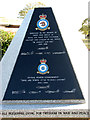TF8425 : RAF West Raynham memorial (memorial plaque) by Evelyn Simak