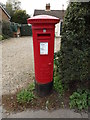 TM2095 : Tasburgh Post Office George VI Postbox by Adrian Cable
