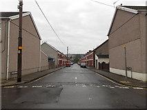 SS8591 : River Street, Maesteg by Jaggery