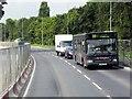 SK5434 : A453 Barton Lane by David Dixon