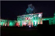 SE7170 : Main house illuminated by DS Pugh