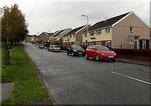 SS8591 : Lewis Road, Maesteg by Jaggery