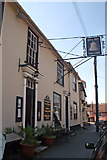 TL7835 : The Bell Inn, St James Street, Castle Hedingham by Jo Turner
