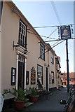 TL7835 : The Bell Inn, St James Street, Castle Hedingham by Jo Turner