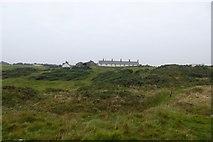 NU2617 : Towards Sea Houses by DS Pugh
