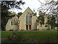 TQ4672 : Holy Trinity church, Lamorbey by Stephen Craven