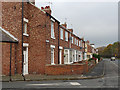 NZ2452 : Edward Terrace, Pelton Lane by Oliver Dixon