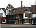 TL1829 : 15th c. timber framed building, Bancroft by Julian Osley