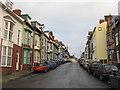 SN5881 : Y Stryd Uchel/High Street by M J Richardson