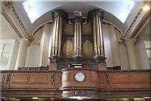 TQ3379 : St Mary Magdalen, Bermondsey - Organ loft by John Salmon