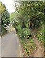 ST7593 : Cotswold Way leaving Wotton-Under-Edge by Derek Harper