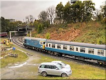 SD8010 : East Lancs Railway, Bury South Junction by David Dixon
