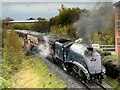 SD8010 : Sir Nigel Gresley on the East Lancashire Railway by David Dixon
