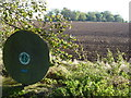 TF3438 : Greenwich Meridian marker near Frampton, Lincolnshire by Richard Humphrey