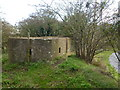 TF3539 : Pillbox on an old sea bank at Wyberton Marsh ; photo 1 of 3 by Richard Humphrey