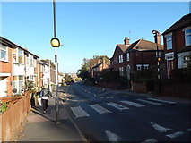TM1543 : Zebra crossing, Belstead Road by Hamish Griffin