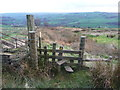 SE0226 : Stile onto Workhouse Slack from the Calderdale Way by Humphrey Bolton